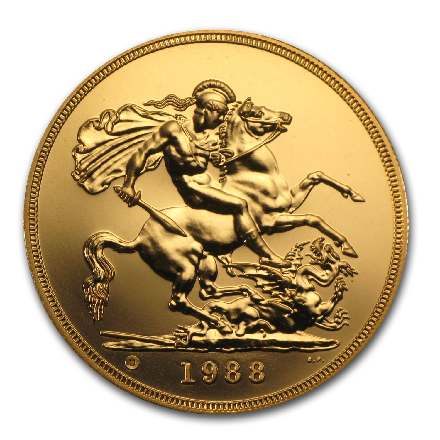 Great Britain Gold £5 (Random Dates) (BU)